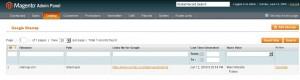 Magento generate Google split XML Sitemap