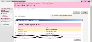 Create WebApplication And SiteCollections