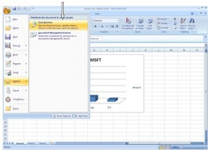 Integration of Excel Services