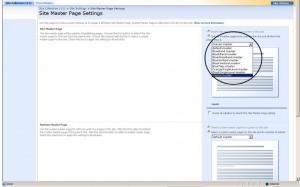 Create Minimal Master Page