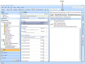 Integration of Outlook